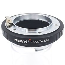 NEWYI Adapter Ring For Exakta Lens To L eica M L/M M9 M8 M7 M6 & Techart Lm-Ea 7 Camera Accessories