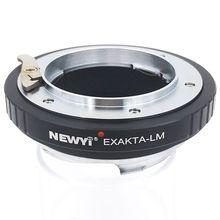 NEWYI מתאם טבעת עבור Exakta עדשת כדי eica L M L/M M9 M8 M7 M6 & Techart Lm  Ea 7 מצלמה עדשת טבעת אבזרים