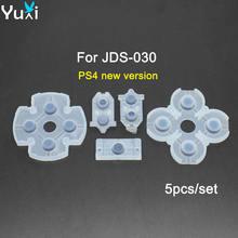5 шт/компл мягкая резиновая стандартная клейкая кнопка для геймпада