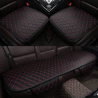 Seat Covers Car Cushion PU Leather Universal Auto Interior Accessories Four Season Protect Set Chair Mat Car styling