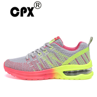 CPX Women's Running Sneakers Breathable Air Cushion Women Running Shoes Breathable Wave Sports Shoes for Jogging Walking Female