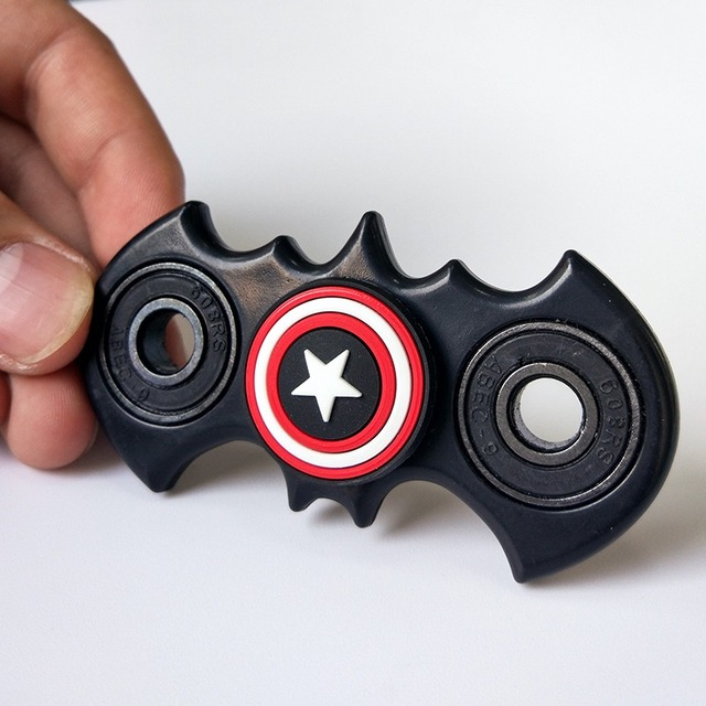 HOT New Fidget Spinner Batman Shape