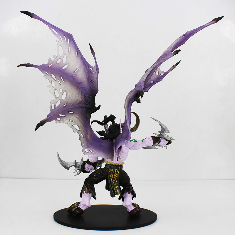 ФОТО Demon Hunter Action Figure DC Unlimited Series 1 Deluxe Boxed Demon Hunter Illidan Storm VC Figure