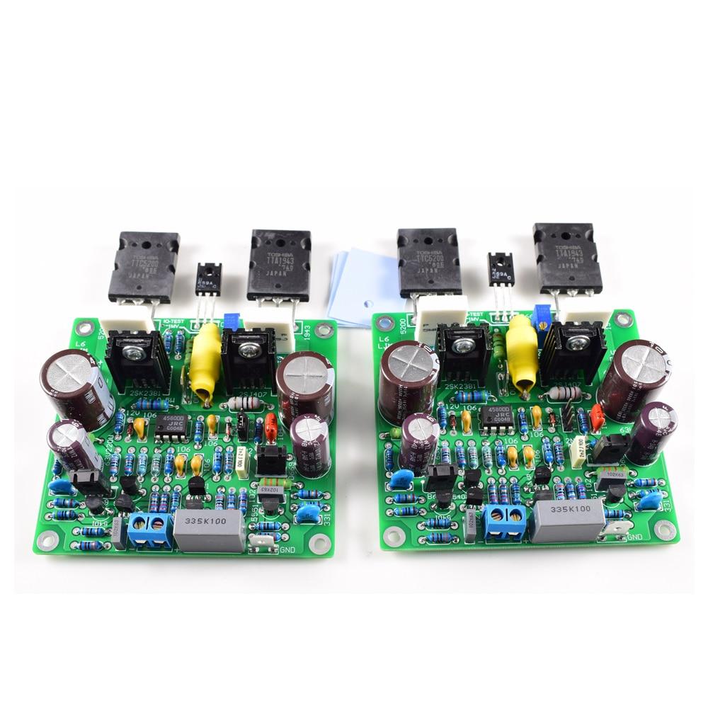 diy accuphase e210 modificado placa de amplificador de potencia
