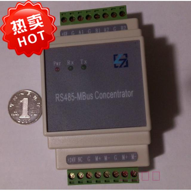 1-250 from Station MBUS/M-bus/M_bus/ to RS485 Module Full Transparent Transfer Concentrator