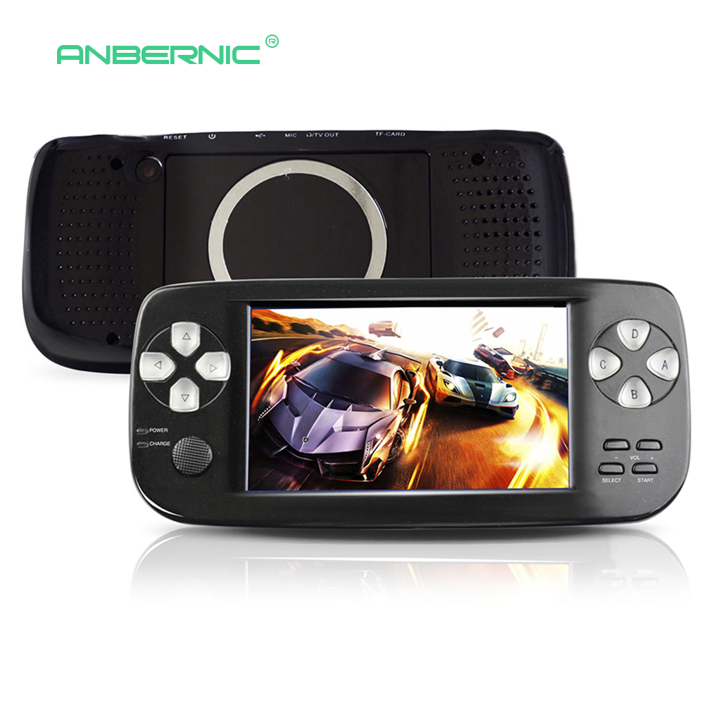 Pap K3 Retro Mini Handheld Game Console Portable 4.3 Inch Classic TV Game 64 Bit Handheld Game Player Children Gift PAP KIII 7 ...