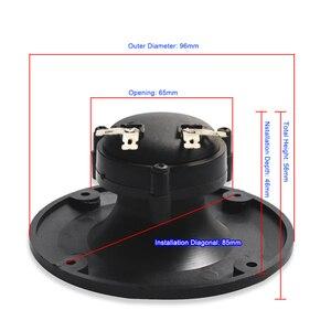 Image 2 - 2PCS Piezoelectric Speaker Tweeter Treble Horn Repair Kit 96*56MM Ceramic Piezo Buzzer Treble Square Audio Speaker