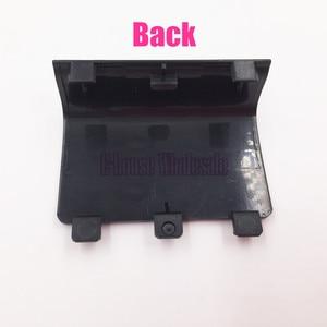 Image 3 - [20 teil/los] Hohe Qualität Schwarz Farbe Batterie Abdeckung Fall Batterie Pack Ersatz für Microsoft Xbox eine Reparatur
