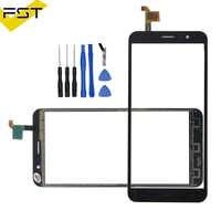 Touch Panel Sensor Touch Screen Digitizer For HOMTOM S16 S 16 Touch Screen Digitizer Front Glass Panel Sensor Black color