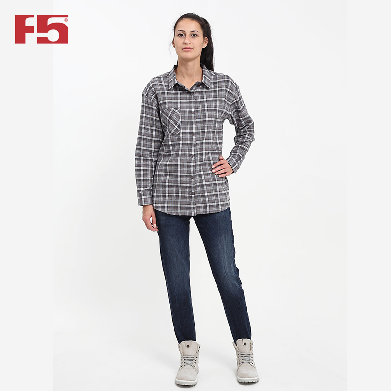 Female blouse F5 284010 navy blouse with self tie