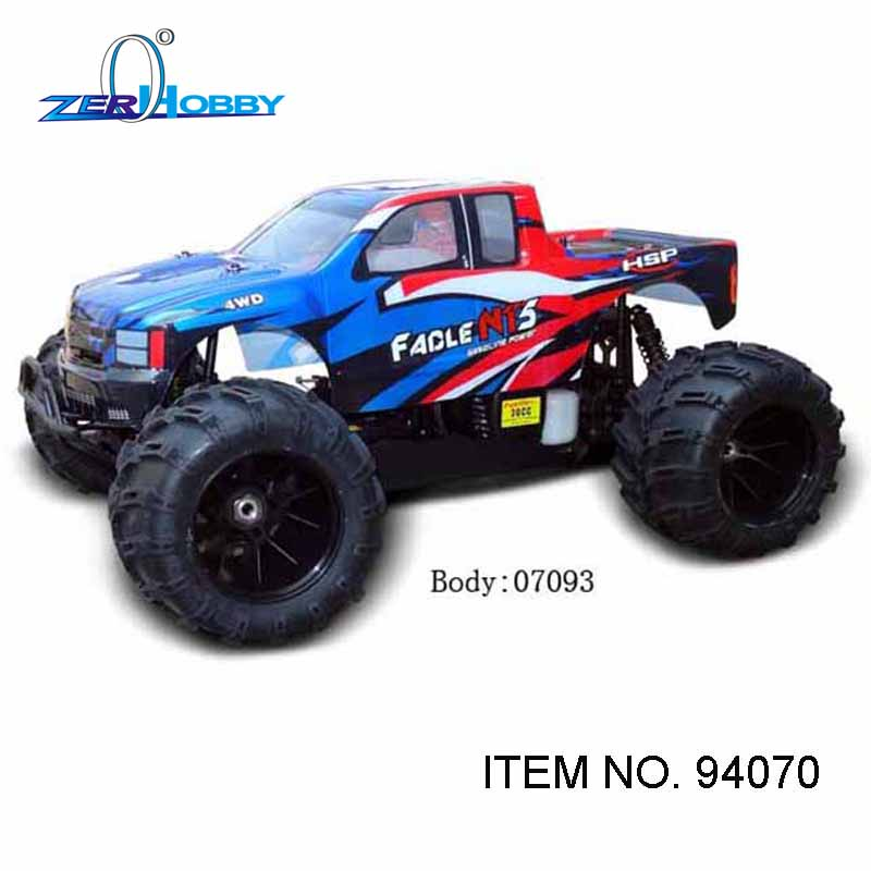 RC CAR TOYS HSP FACLE NT 5 GAS MONSTER TRUCK 1/5 SCALE 4X4 OFF REMOTE - Lodra me telekomandë - Foto 2