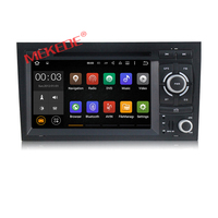 free shipping NEW ANDROID 7.1 CAR DVD PLAYER for Audi A4 2002 2008 year with Wifi 3G GPS Bluetooth Radio RDS USB SD free map