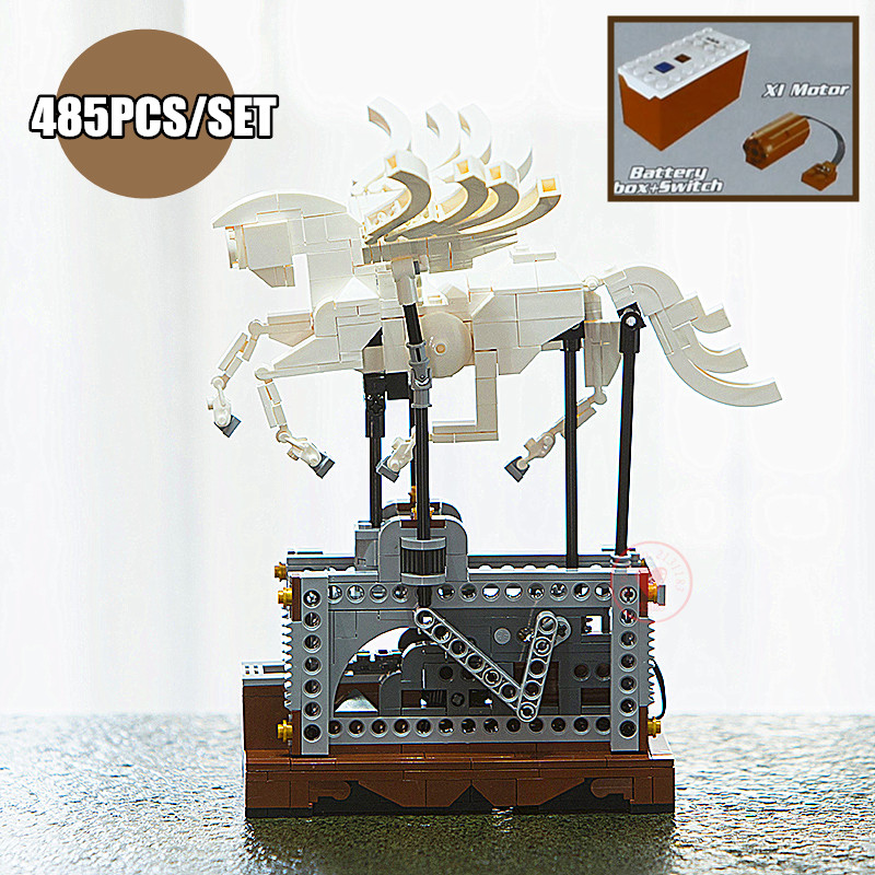 Nouvelle Technique Électrique RC Pegasus Flying Horse fit legoings technique idée creative décoration Building Block Brique cadeau enfant bricolage Jouet