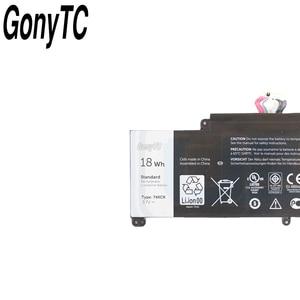 Image 4 - Gonytc 18Wh 3.7V 74XCR 074XCR batterie dordinateur portable dorigine pour Dell Venue 8 Pro 5830 T01D VXGP6 X1M2Y tablette série batterie dorigine