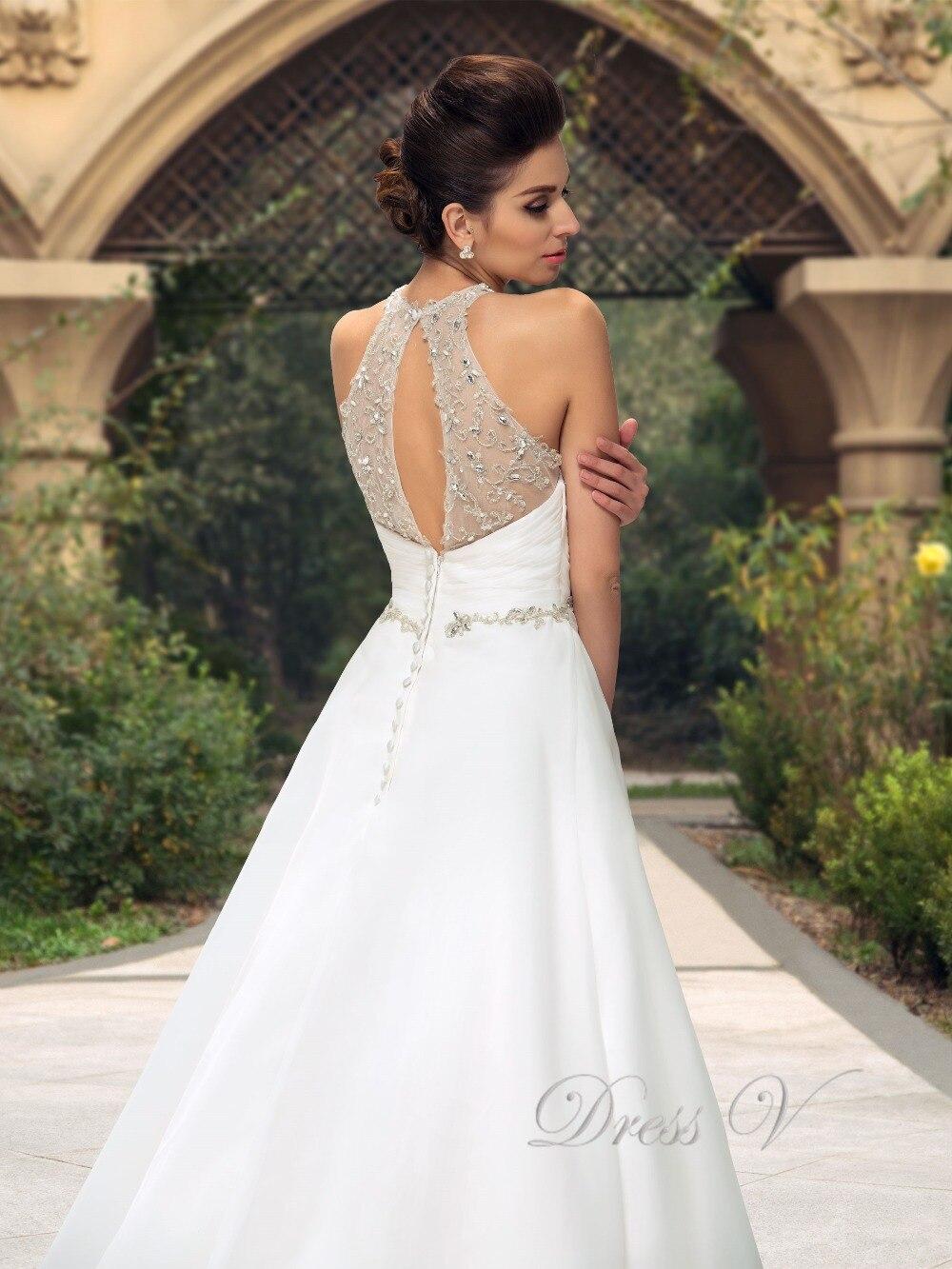 Charmant Halfter Brautkleider Strand Ideen - Hochzeit Kleid Stile ...