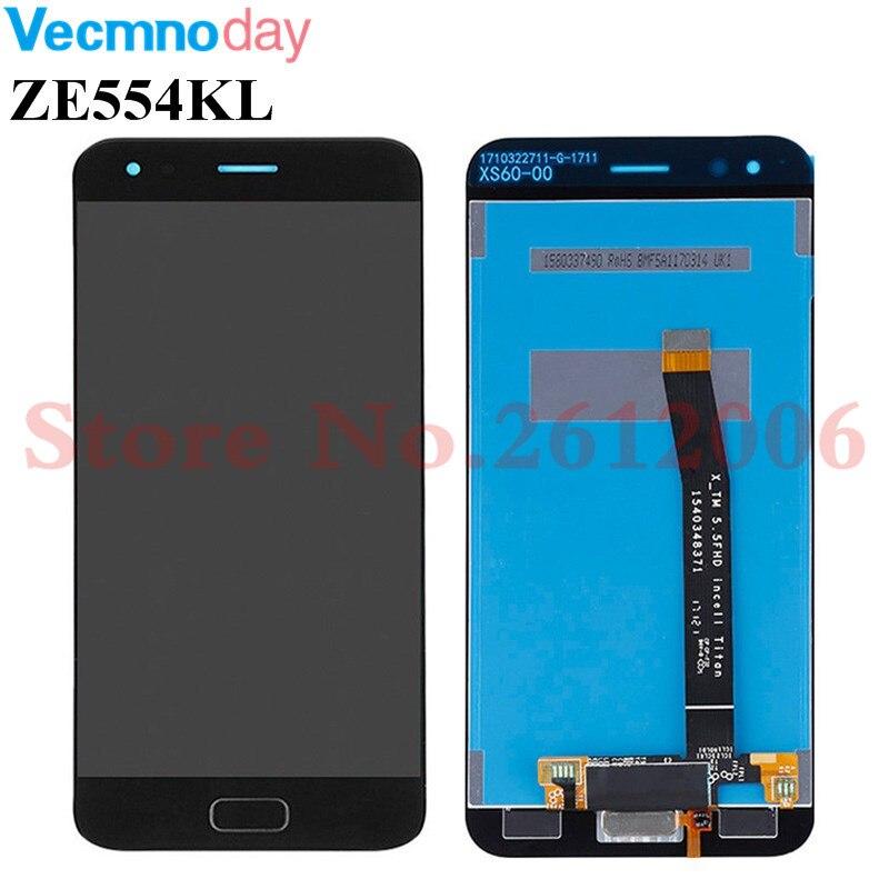 5.5 pouces pour ASUS Zenfone 4 ZE554KL écran tactile numériseur capteur en verre + écran LCD écran moniteur écran assemblage