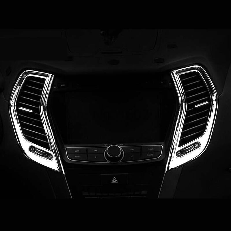For Hyundai Santa FE IX45 2013-2014 Chrome Door Bowl Handle Cover Trim