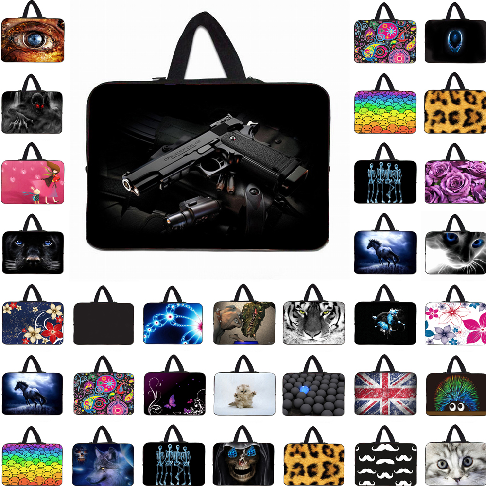 "Viviration For Macbook Pro 13 15 Neoprene Handle Cover Case Hot Funda Portatil Bolsas 15.6"" 13.3"" 14 17 Laptop Notbook Carry Bag"