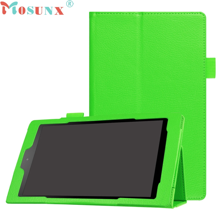 MOSUNX Futural Digital High Quality Hot Selling Folio Case Leather Stand Cover For Amazon Fire HD 8 Drop Shipping F30