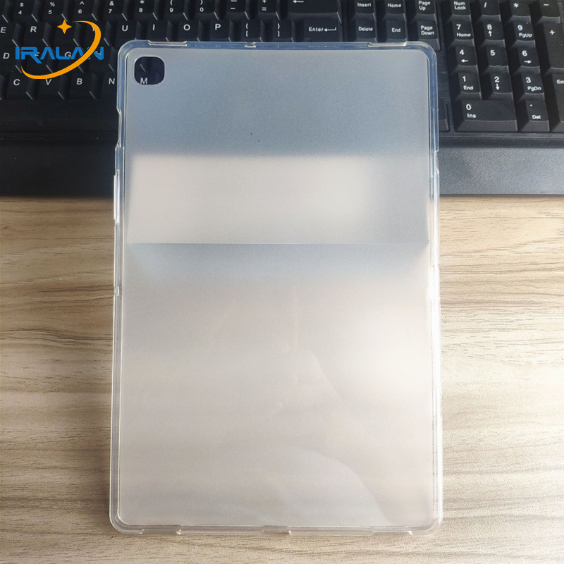 Silicon Soft TPU Cover For Samsung Galaxy Tab A 10.1 2019 T510 T515 8.0 P200 P205 Tab S5E 10.5 T720 Tab S6 T860 T865 Funda Coque image