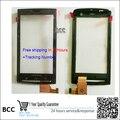 Оригинальный новый передний сенсорного экрана digitizer стеклянная панель Для SONY Для Ericsson X10 X10I черный/белый цвет Тест Ok + Трек