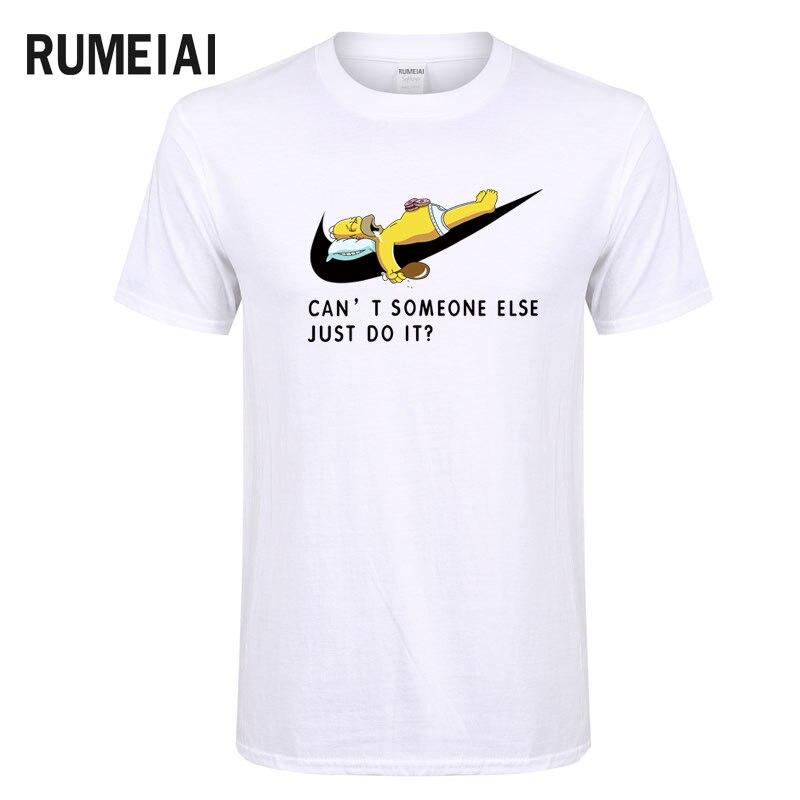2018New Letter Print Hip Hop T Shirt Mens Cotton Cartoon Cosplay o-neck T-shirts Summer Skateboard Tee Boy Skate Tshirt Tops