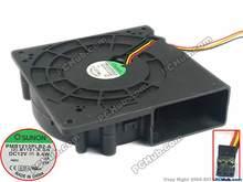 Бесплатная доставка для SUNON PMB1212PLB2-A, (2). B1121.R. GN DC 12 В 9.4 Вт 3-провод 3-Pin 120x120x38 мм Сервер нагнетательный вентилятор