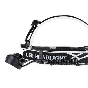 Image 3 - ZK20 גבוהה Lumens LED פנס פנס 4T6 2COB ראש מנורת פנס Inductive Motion חיישן פנס קמפינג דייג חיצוני