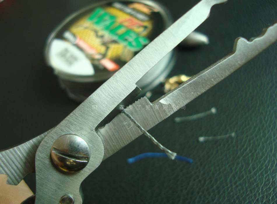 1PC Multifunctional ตกปลา Plier ประมงสายคีมตัดเครื่องมือเหยื่อล่อเหยื่อตะขอ Remover กรรไกรตัด Pesca มีด