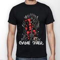 Deadpool vs juego de tronos camiseta personalizada camisa de hombre Harajuku manga corta Hipster Top Tee Shirt hombres camiseta divertida Euro tamaño S-XXXL