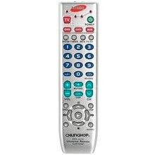 Uniwersalny pilot do nauki zdalne sterowanie do TV/SAT/DVD/CBL/DVB T/AUX kopiowanie rosyjska instrukcja w języku angielskim Chunghop SRM 403E
