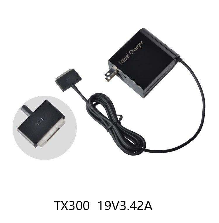 5 pièces/65 W AC chargeur mural alimentation adaptateur de prise de voyage pour ASUS Transformer livre TX300 TX300K TX300CA ordinateur portable tablette