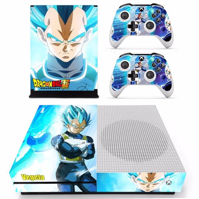 Dragon Ball Z Vegeta Skin Stickers for Xbox One S Slim