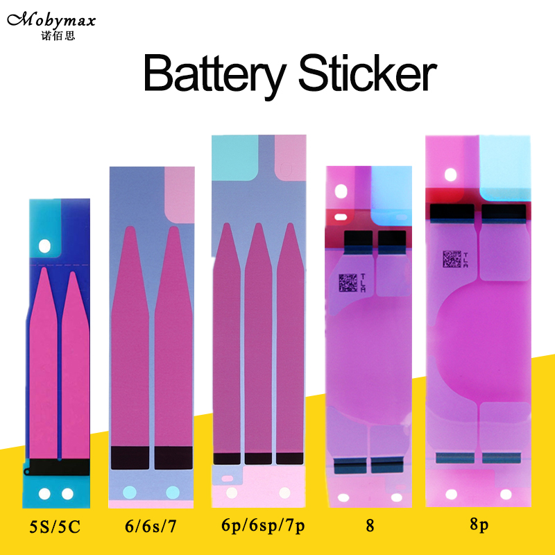 50/100 PCS Batterie Aufkleber Adhesive DIY Pull Streifen Tab Für iPhone 7 Plus 6 6 s 6 s Plus 5 5C 5 s 4 4 s Batterie Kleber Ersatz Teil