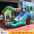 Populares al aire libre juguetes inflables inflable trampolín bebé gorila