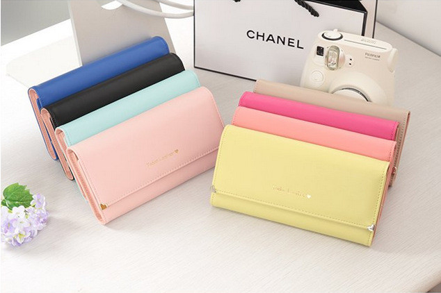 Envelope Wallet New Multifunction Women Wallets Coin Case Purse For Iphone Galaxy Case Iphone 4 5
