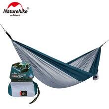 NatureHike Сверхлегкий гамак для отдыха на природе, охоты, гамак, портативный двойной гамак NH17D012
