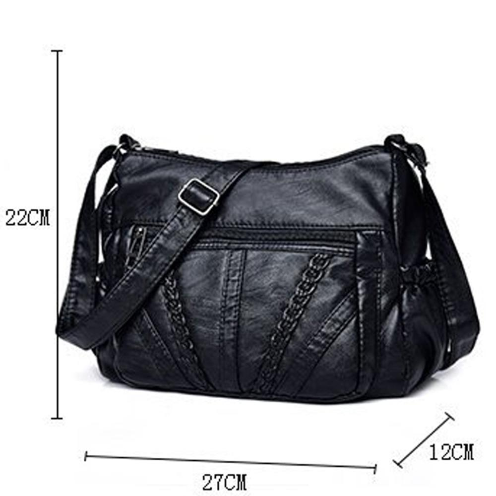 New Women Sheepskin Leather Handbags Women Messenger Bags Designer Crossbody Bag Women Tote Shoulder Bag Top-handle Bags Flap