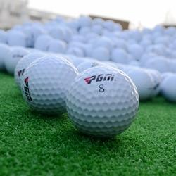 100 أجزاء من البلاستيك كرات الغولف pgm الماركة الصين ، كرات الغولف الصين جولف الكرة ماركر الترويجية. الحد الأدنى لكمية هو 100