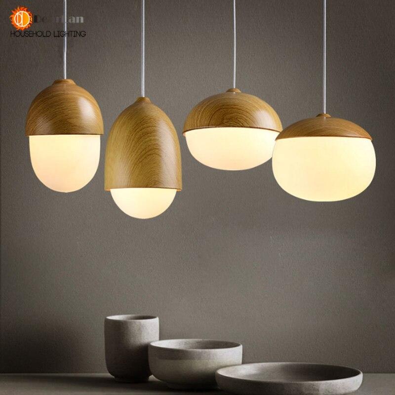 Vintage Iron Wood Grain Shop Pendant Lamp E27 Lamp Holder 110-240V Foyer/Coffee House/Dining Hall Indoor Lighting Free Shipping