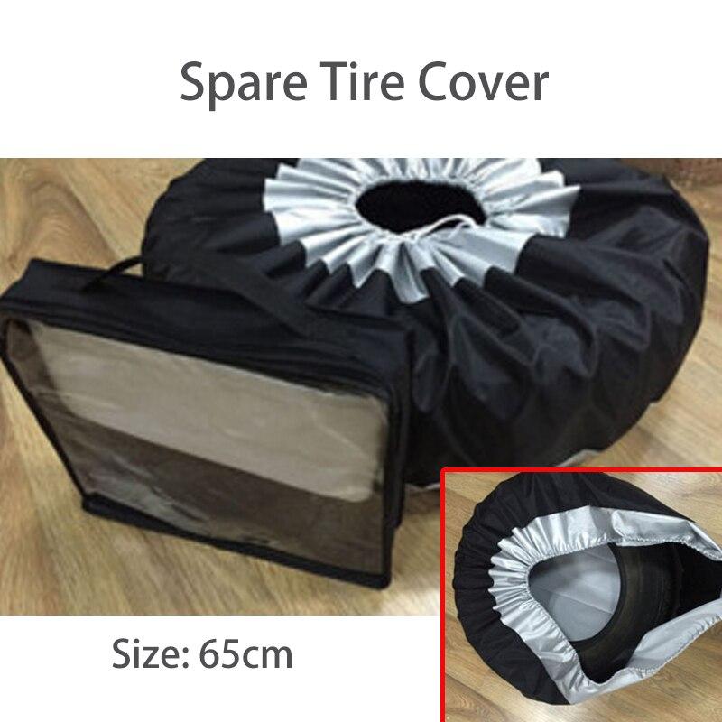 NWIEV 1X housse de pneu de rechange de voiture étanche à la poussière et à la pluie pour BMW E90 F30 F10 Audi A3 A6 C5 C6 Hyundai i30 ix35 ix25 KIA accessoires - 5