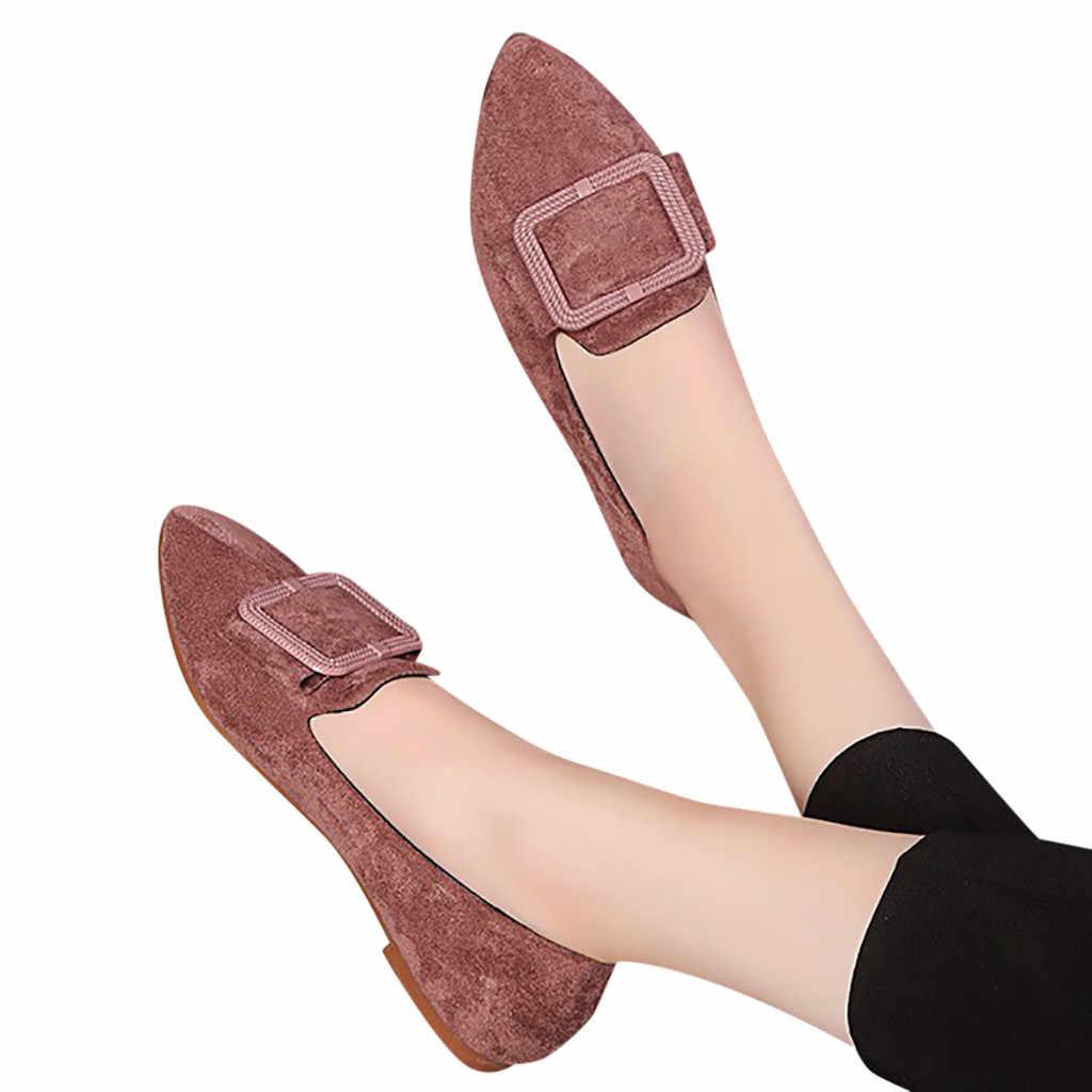 2019 אביב הקיץ חדש נשים של אופנה פלטפורמת לנשימה הבוהן מחודדת מזדמן משאבות אופנה פשטות אחת נעליים