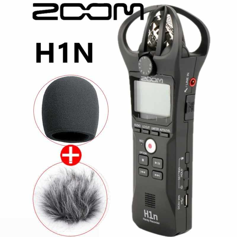Zoom H1n Handy Recorder Digital Camera Audio Recorder Interview