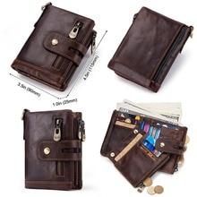 Rfid Genuine Leather Wallet