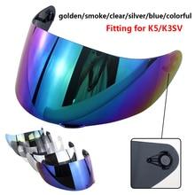 цена на Motorcycle Full Face Helmet Lens K5 K3SV K1 Helmets Visor Casco Shield Capacetes Accessories&Parts Anti-Fog Helmet Lens Film