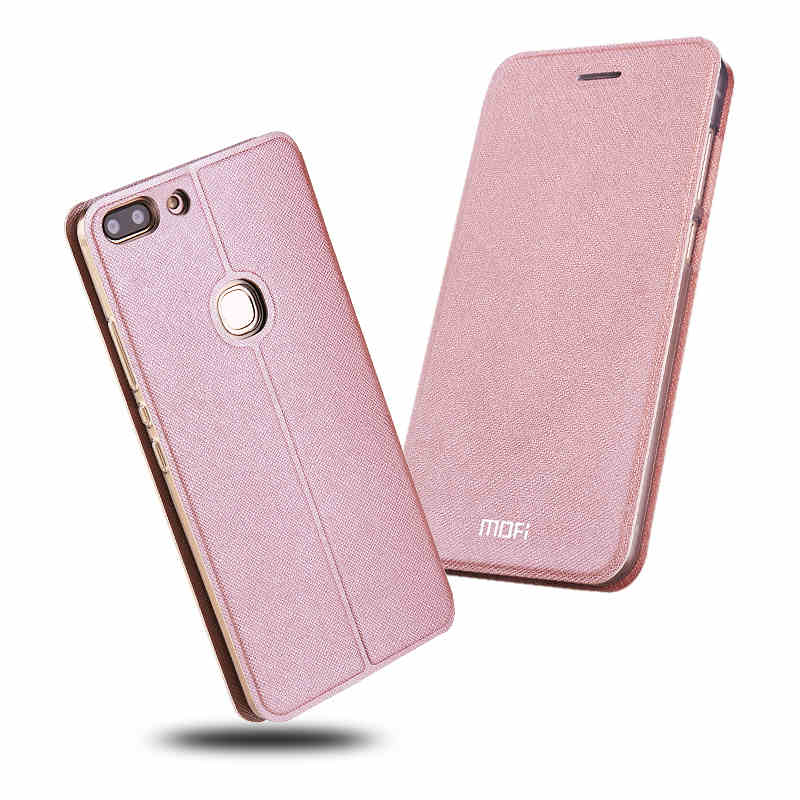 Mofi Slim Flip Case For ZTE Nubia Z17 Mini / For ZTE Nubia Z17 Case PU Leather + TPU Silicon Cover For Nubia Z17 Phone Funda