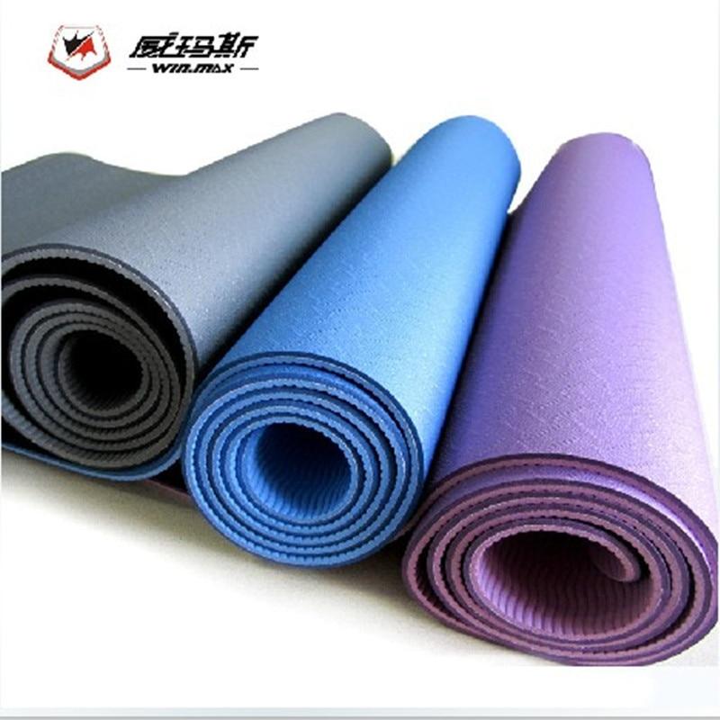 2015 Winmax Genuine TPE 6mm Thick 183cm*61cm Yoga Mat Yoga