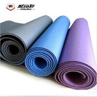 2015 Winmax Genuine TPE 6mm thick 183cm*61cm Yoga Mat Yoga Fitness Mat,Good Quality Yoga Pad Yoga Blanket Anti skid Wholesale