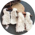 Free Shipping 5pcs/lot 2-8yrs Baby Girls Autumn and Winter Faux Fur Vest