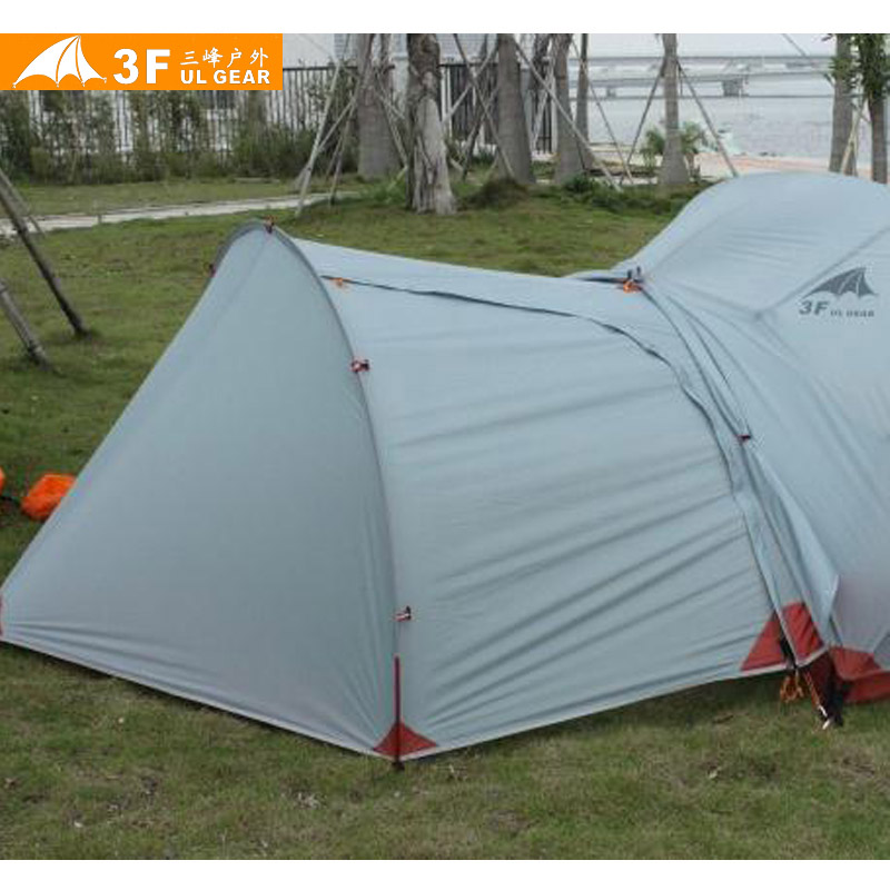 3F UL Gear 210T Tent Gear Shed Vestibule Entrance for Piaoyun Single or 2 people Tent